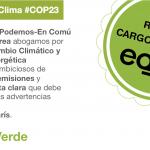 Comienza la #COP23: Exigimos urgentemente una Ley de Cambio Climático