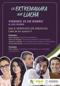 Extremadura en lucha @ Sala Verdugo