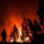 Solidaridad con Portugal en un día de incendios