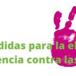 Urgen medidas para la eliminación de la violencia contra las  mujeres