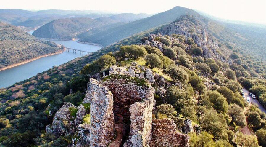 Parque nacional de Monfragüe en Extremadura