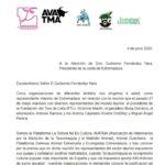 Nuestro apoyo a las ONGD´s que piden a Fernández Vara que NO de más ayudas a la tauromaquia