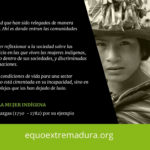 Nacer niña indígena