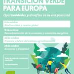 """Ciclo Online """"Transición Verde para Europa"""""""